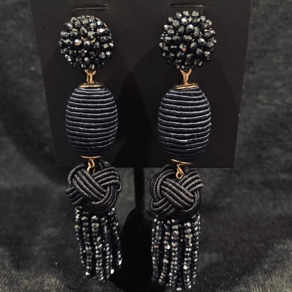 BaubleBar Jewelry - BaubleBar Blue Beaded Drop Earrings